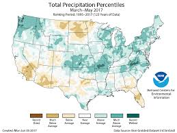 Rain Map Usa by Assessing The U S Climate In May 2017 National Centers For