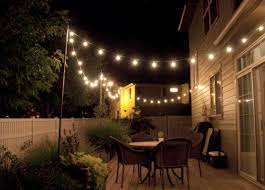 Patio Decorative Lights String Lighting Idea For Outdoor Deck Home Sweet Home