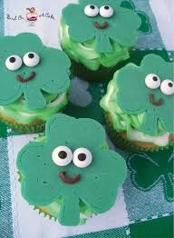 bird on a cake st patrick u0027s day shamrock cupcake toppers