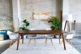 Walnut Dining Room by The Santa Monica Modern Walnut Dining Table