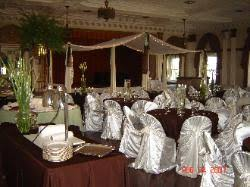 Elegant Chair Covers Simply Elegant Weddings Chair Cover Rentals Wedding Rentals