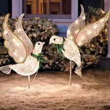 Giraffe Christmas Yard Decoration by Christmas Outdoor Yard Displays Christmas Wikii