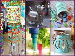 simple crafts for home decor home decor made from recycled materials imanlive com