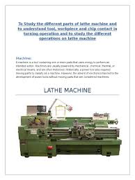lathe machine machining machining metalworking