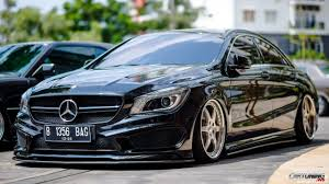 bagged mercedes benz slk gettinlow tuning mercedes benz cla 200 c117 forged wheels