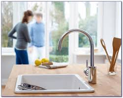 how to install a grohe kitchen faucet grohe concetto kitchen faucet installation faucets home design