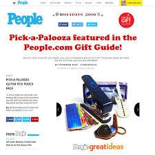amazon com pick a palooza diy guitar pick punch with leather key