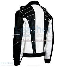 leather apparel shop michael jackson pepsi black u0026 white leather jacket australia