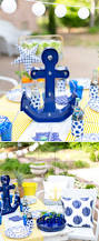 nautical backyard summer dinner party pizzazzerie