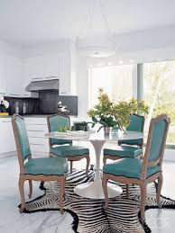 Zebra Dining Chair 10 Gorgeous Dining Room Interior Design Ideas With Leather Chairs