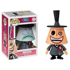 nightmare before pop vinyl figure mayor