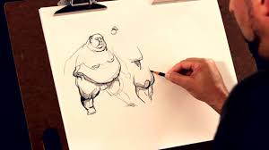 learn to draw heavy set people drawing lesson cre8tivemarks