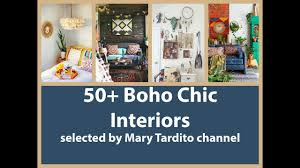 50 boho chic interiors bohemian home decor ideas youtube