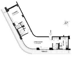 Small Condo Floor Plans Unusual Floor Plans Penthouses With Unique Floorplan In The