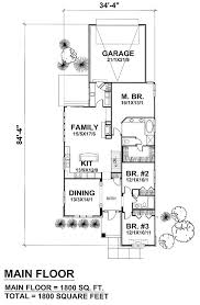 Contemporary House Floor Plan 71 Best House Plans Images On Pinterest Ranch House Plans