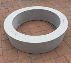 Concrete Firepits Improbable Concrete Pit Ring Garden Landscape