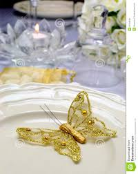 Dining Table Set Up Images Close Up Of Detail On Wedding Breakfast Dining Table Setting With