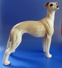 greyhound figure ornament vintage beswick pottery animals
