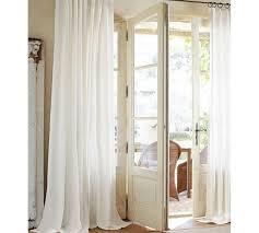 Cotton Curtains And Drapes Cameron Cotton Pole Pocket Drape Pottery Barn