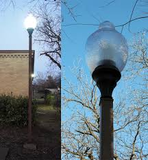 acorn street l globe acorn fixture led replacement bulb led post top retrofit ls