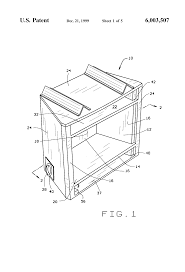 patent us6003507 gas heater having firebox with controllable