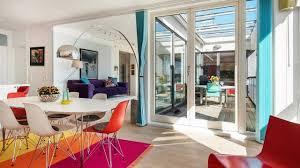 modern scandinavian penthouse colourful interior design youtube