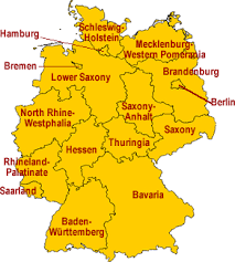 map of regions of germany regional specialties german cooking german food guide