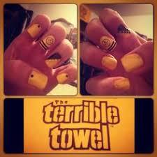 pittsburgh steelers nail art nails pinterest makeup