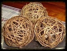 twig home decor grapevine twig balls especially for you home decor