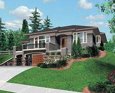 sloping lot house plans house plans for sloping lots awesome idea 11 plan 6924am a front