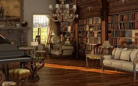steampunk house interior steampunk room wallpaper wallpapersafari