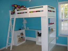 bedroom full size loft bed with desk cheap full size loft beds