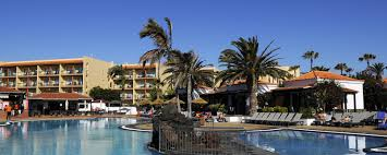 hotel club jet tours barcelo castillo beach in caleta de fuste spain