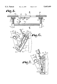patent us5685689 quick attach system for front end loader