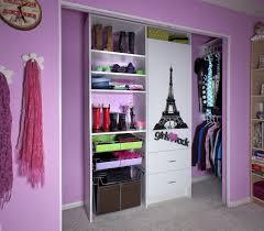 closet u0026 storage girls rock closet wardrobe ideas with sliding