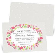 custom bridal shower invitations custom bridal shower invitations custom designs from pear tree