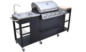 cuisine gaz barbecue à gaz cuisine extérieur groupon