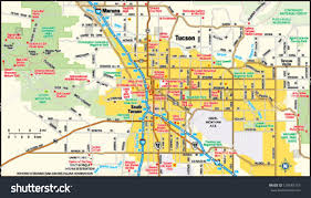 Tucson Az Zip Code Map by Image Gallery Tucson Map