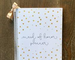 of honor wedding planner book wedding organizer