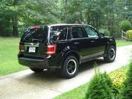 Ford Escape Black - ford escape price modifications pictures moibibiki