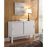 amazon com white buffets u0026 sideboards kitchen u0026 dining room