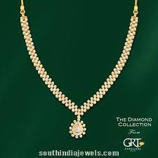 jewelry diamonds necklace images Simple diamond necklace model from grt jewellers diamond jpg