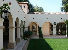 Spanish Style Courtyards by Stoecker And Northway Architects Inc Spanish Style Courtyard