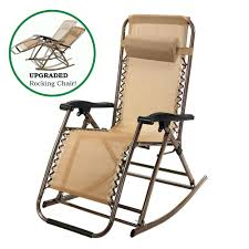 Patio Recliner Chair by Partysaving Infinity Zero Gravity Rocking Chair Outdoor Lounge