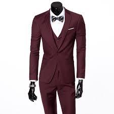 mens blazers suit new arrivals 2016 jacket pant vest formal
