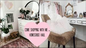 Homesense Uk Chairs Come Shopping With Me Bedroom Tour Homesense Haul Ad Youtube