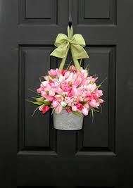 spring wreaths for front door cheap decorating ideas front doors spring and doors