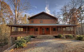 north georgia riverfront log cabins homes for sale
