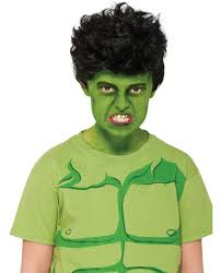 Marvel Halloween Costume Incredible Hulk Wig Accessories U0026 Makeup