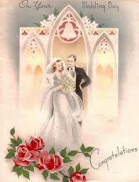 wedding day cards from to groom 520 best cards wedding images on vintage weddings